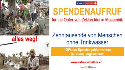 Trinkwasser für Mosambik
